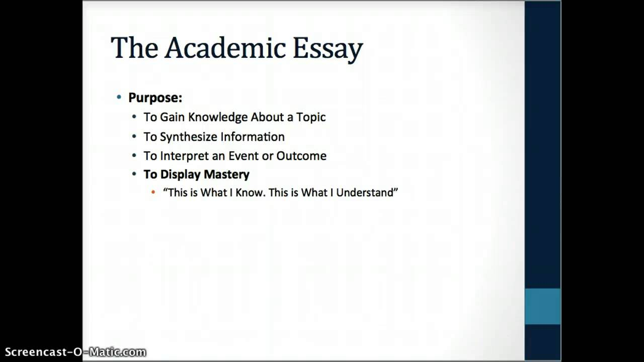 an analysis of the topic on the academic life Analytical skills in college academic writing assignments call for several different kinds of analysis, but we will discuss analysis under three general headings, rhetorical analysis, process analysis and causal analysis.