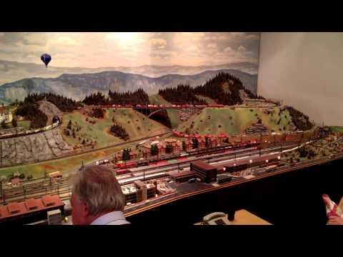 Modellbahn im DB Museum Nürnberg