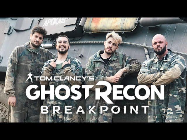 L'addestramento militare di Ghost Recon