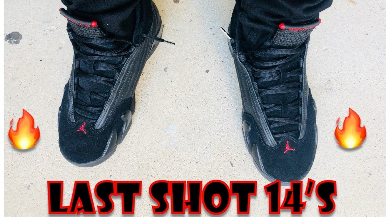 42d0c00bc15 Last shot Jordan 14 early review & on feet 🔥🔥🔥🔥 - YouTube