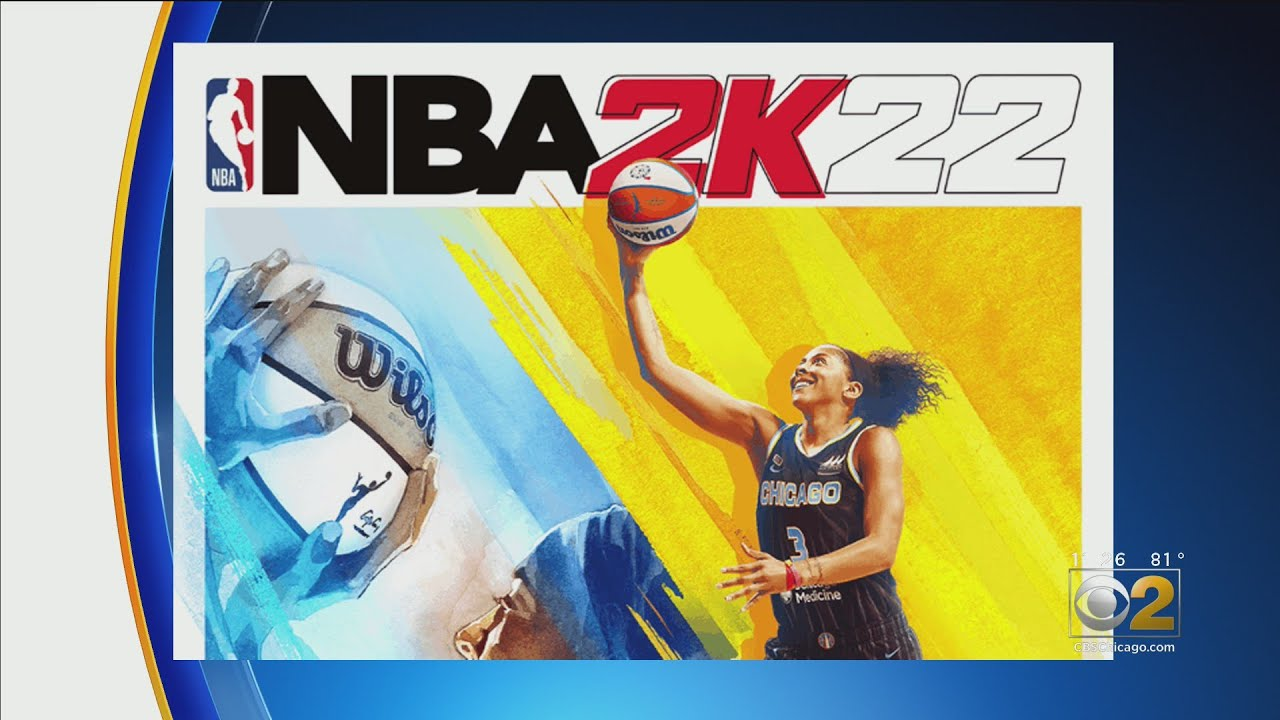 Chicago Sky's Candace Parker becomes first woman to be NBA 2K ...