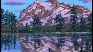 Видео 5 части 5, как рисовать горы и озеро с акрилом(Как рисовать горы и озеро с акрилом на холсте. В этом видео я объяснить каждый шаг живопись процесс скалы,..., 2011-08-27T06:06:41.000Z)