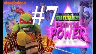 Черепашки Ниндзя Сила порталов  #7 Искажонный Нью Йорк мультик игра о черепашках TMNT Portal Power