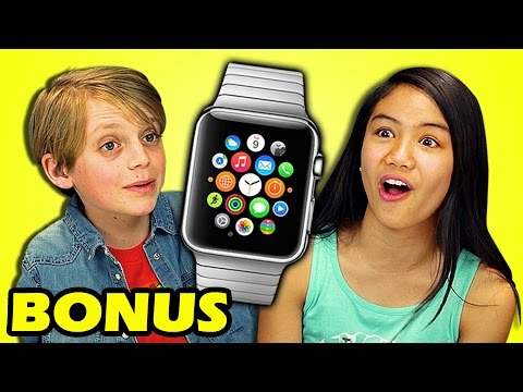 She reacts to Apple Watch
