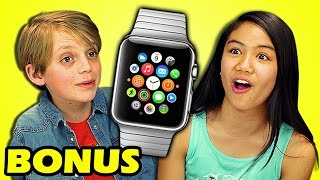 KIDS REACT TO APPLE WATCH (Bonus #128)