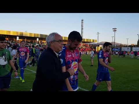 Play off. Vuelta. G. Segoviana 0 - Villarrobledo 1. Final partido.  15/6/2019 (7)