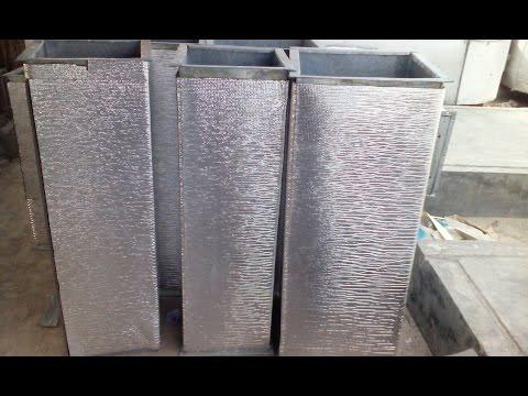 How to make HVAC GI Duct - YouTube