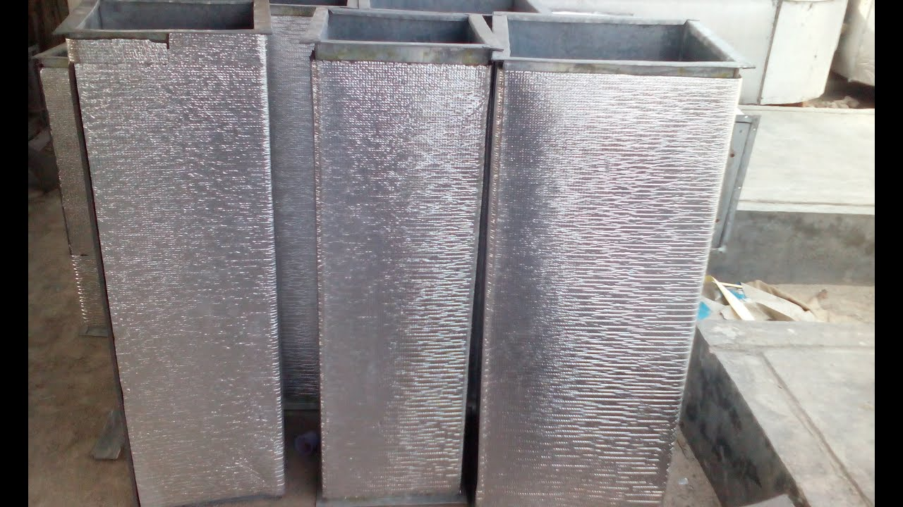 #5C4D41 How To Make HVAC GI Duct   Brand New 491 Ac Sheet Metal Ductwork images with 2880x1728 px on helpvideos.info - Air Conditioners, Air Coolers and more