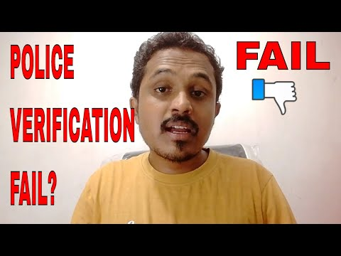 POLICE VERIFICATION FAIL FOR PASSPORT! WHAT TO DO?? FULL INF
