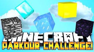 Minecraft - PARKOUR CHALLENGE! w/Preston, BajanCanadian, Vikkstar & Lachlan