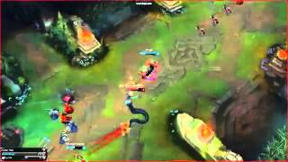 Lee Sin outplays Cassiopeia