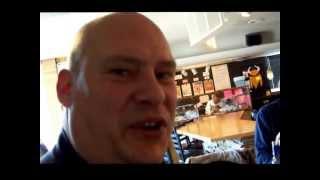 Man vs. Food, The Tin Cup Lucifer Jucy Lucy Hamburger, 1220 Rice St. Saint Paul MN