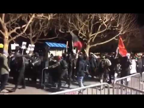 Anti-Milo Protests at Berkeley Feb 2017