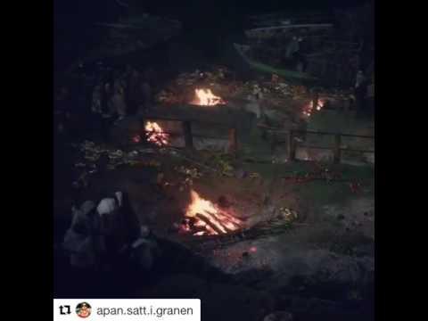 Apan goes to Bollywood - Likbränning i Varanasi