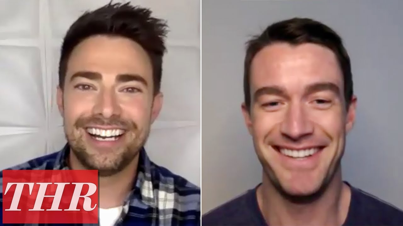 The Christmas House Cast: Robert Buckley and Jonathan Bennett | THR Interview
