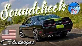 Dodge Challenger SXT 3.6 V6 2017 - 309PS / 353Nm - Soundcheck!