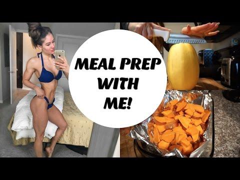 Bikini competition diet
