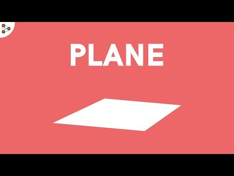 What is a Plane?