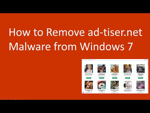 How to Remove ad-tiser.net Malware on windows 7