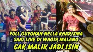 Download lagu Full Guyonan Nella Kharisma Saat Live di Wagir Malang Cak Malik jadi isin MP3