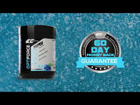 EC Sports Supplements - OptiForce Icey Blue Raspberry Pre Workout - Coming Soon!