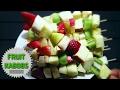 Fruit kabobs/skewers!
