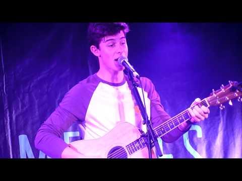 Shawn Mendes -Thinking Out Loud (Ed Sheeran Cover) - La Boule Noire - Paris - 01.03.2015