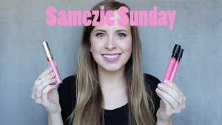 Samezie Sunday: Anastasia Baby Pink Liquid Lipstick Dupe | Heather Pickles
