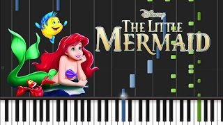 Jodi Benson Part of Your World Synthesia Tutorial.mp3