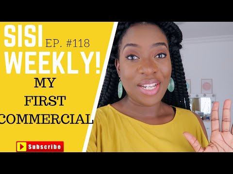 I'M IN A COMMERCIAL!!! | SISIWEEKLY EP#118  | LIFE IN LAGOS