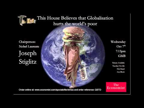 This House Believes That Globalisation Hurts the World's Poor