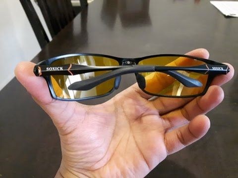 ad88de45ae7 Soxick® HD Night Driving Glasses Review - YouTube