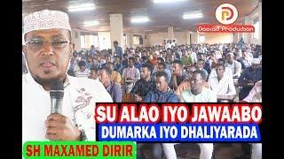 Suaalo iyo Jawaabo Cusub Dumarka iyo dhalinyarada  2019 || Sh Maxamed Dirir