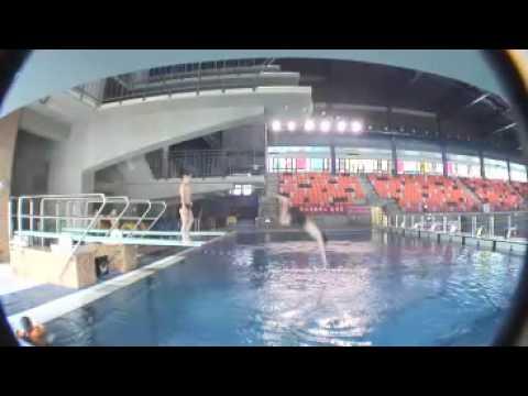 TSPDC 臺北市松山運動中心跳水課程 Song Shan Sports Center