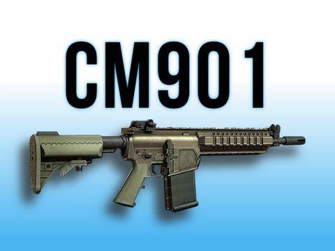 MW3 In Depth - CM901 Assault Rifle - YouTube