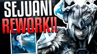 SEJUANI REWORK FULL, TANK CLASS UPDATE!! | League of Legends