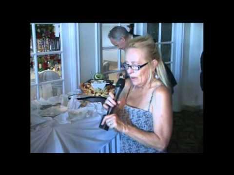 Drunk Lady has nervous breakdown during wedding testimonial