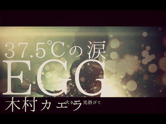 【男が歌う】EGG/木村カエラ『37.5℃の涙』挿入歌(フルカバー)