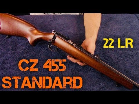 CZ 455 Standard 22LR Arrives! (HD)