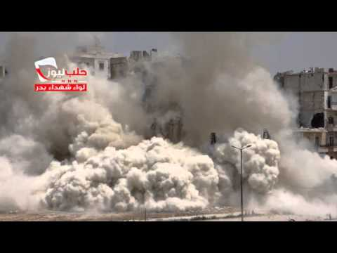 Syrian Rebels Use Timed Munitions In Street Battle