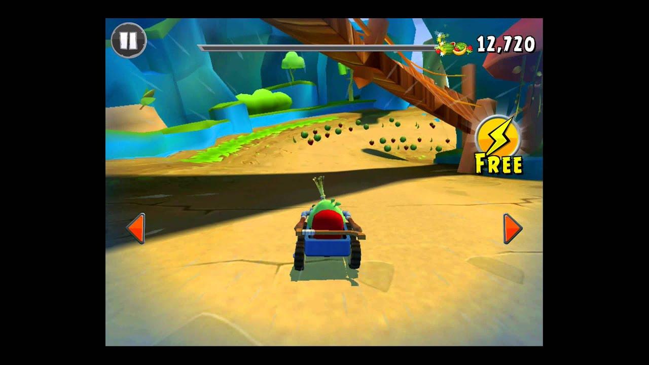 Angry Birds Go! Rocky Road Track 3- Fruit Splat 2