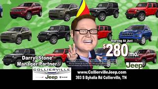 Jeeps starting at just $280 Per month during the Jeep Celebration Event!