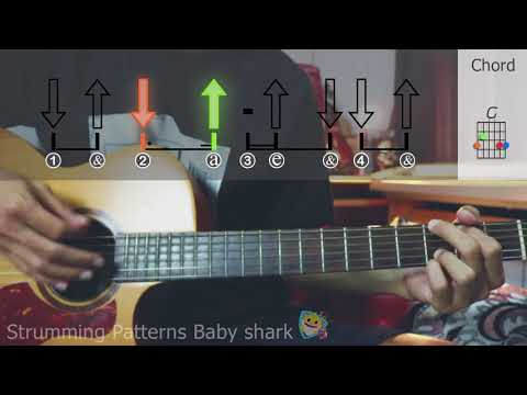 Strumming Patterns & Chord Baby shark