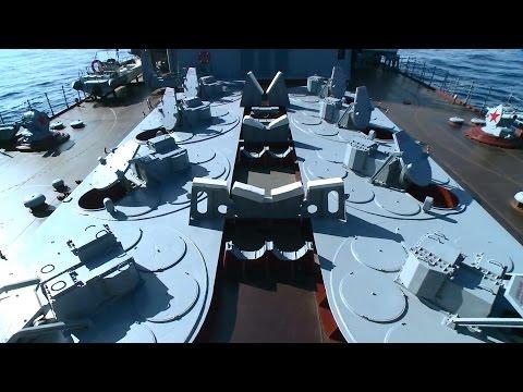 ГРКР «Москва» прибыл к побережью Латакии для противовоздушной обороны района