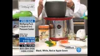 Wolfgang Puck 7qt 4-in-1 Pressure Cooker
