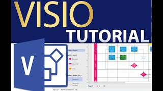 Microsoft Visio Tutorial - How to Draw Visio Diagrams