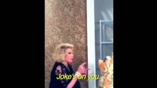 miss piggy joan rivers fight at qvc party