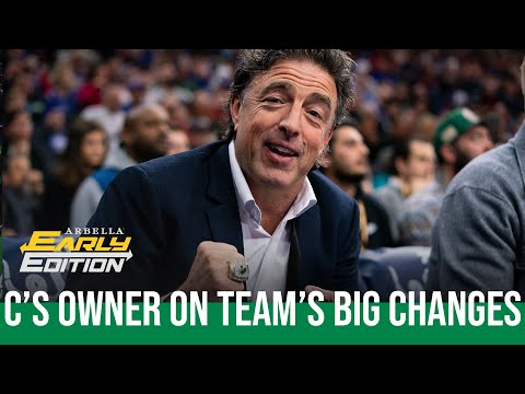 Download Wyc Grousbeck on front office changes, chances Brad Stevens returns to coaching | NBC Sports Boston