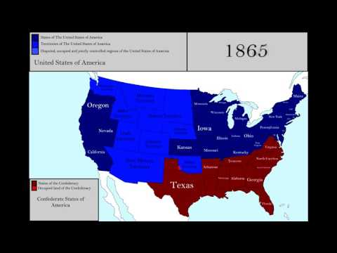 Terrtorial Evolution of the USA