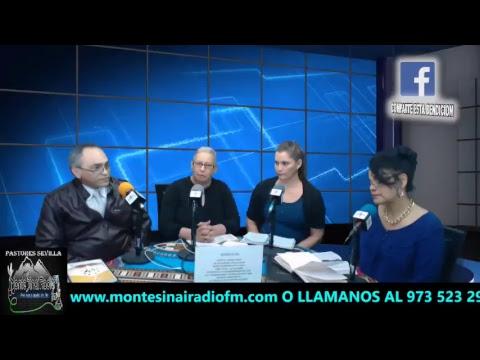 Monte Sinai Radio fm Sentado A La Mesa Del PADRE  4/1/2018